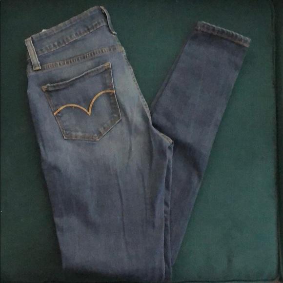 Levi's Denim - Levi legging stretch jeans